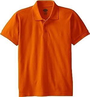 Boys' Short Sleeve Pique Polo