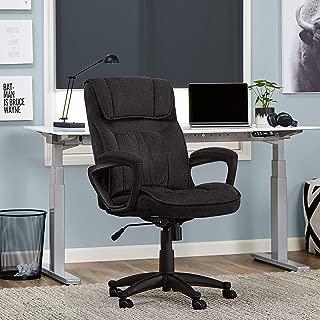 Serta Style Hannah I Office Chair, Microfiber, Black