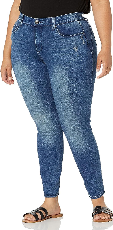 Gloria Vanderbilt Women's Plus Size Seamless Body Positive Skinny Jean