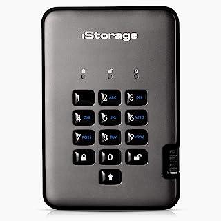 iStorage diskAshur PRO2 HDD 500GB Veilige Harde Schijf FIPS Level 3 Stof- en Waterbestendige Hardwareversleuteling. Is-DAP...