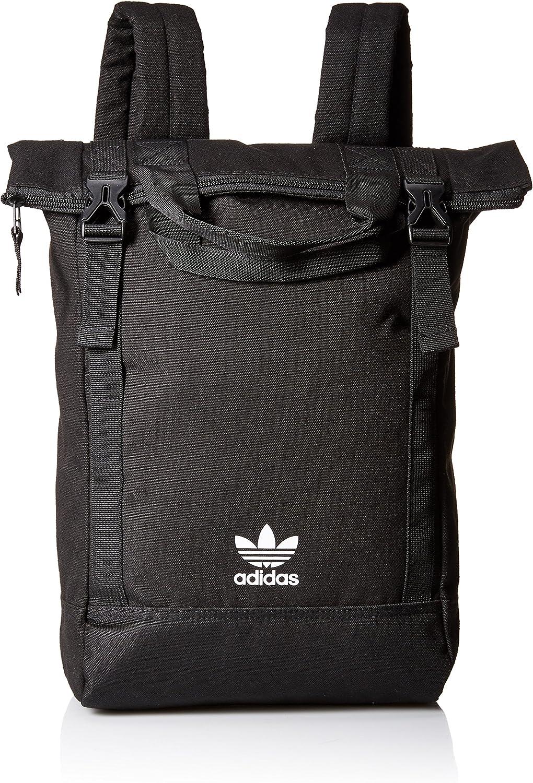 Chaise longue Reprimir Escoger  Amazon.com: adidas Women's Originals Tote Pack, Black/Chalk White, One  Size: Clothing