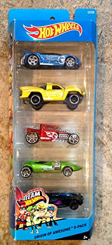 Hot Wtalons, 2015 Team Hot Wtalons, Origin Of Awesome 5-Pack by Mattel