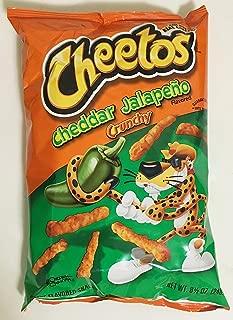 8.5oz Cheetos Cheddar Jalapeno Crunchy (Pack of 2)