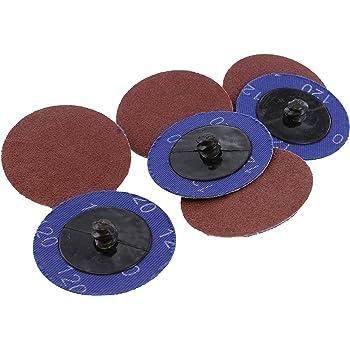 "Sander Round 50mm 2/"" Dia 120 Grit Sandpaper Sanding Polishing Discs Wheel 30pcs"