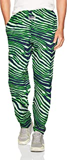 Zubaz Men's Standard Classic Zebra Printed Athletic Lounge Pants X-Large Multi