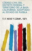 Código civil del Distrito Federal y territorio de la Baja-California: adoptado al estado de Puebla (Spanish Edition)