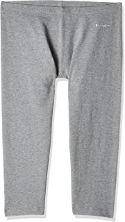 Champion 111848 EM006OXGM Women's Pants Capri, Small, Grey