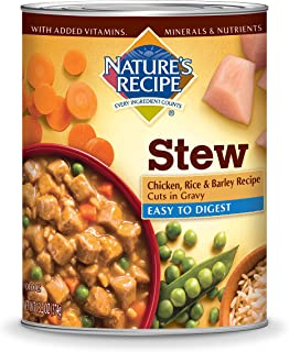Nature's Recipe Easy to Digest Wet Dog Food, 13.2 Ounce (Pack of 12)