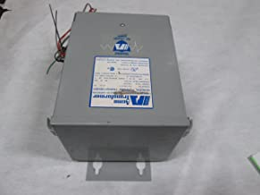 Acme Electric T253013S Dry-Type Distribution Transformer, 1 Phase, 3.00 kVA, 60 Hz, 240 x 480 Primary Volts, 4 Windings, Wall Mount, Steel, Gray