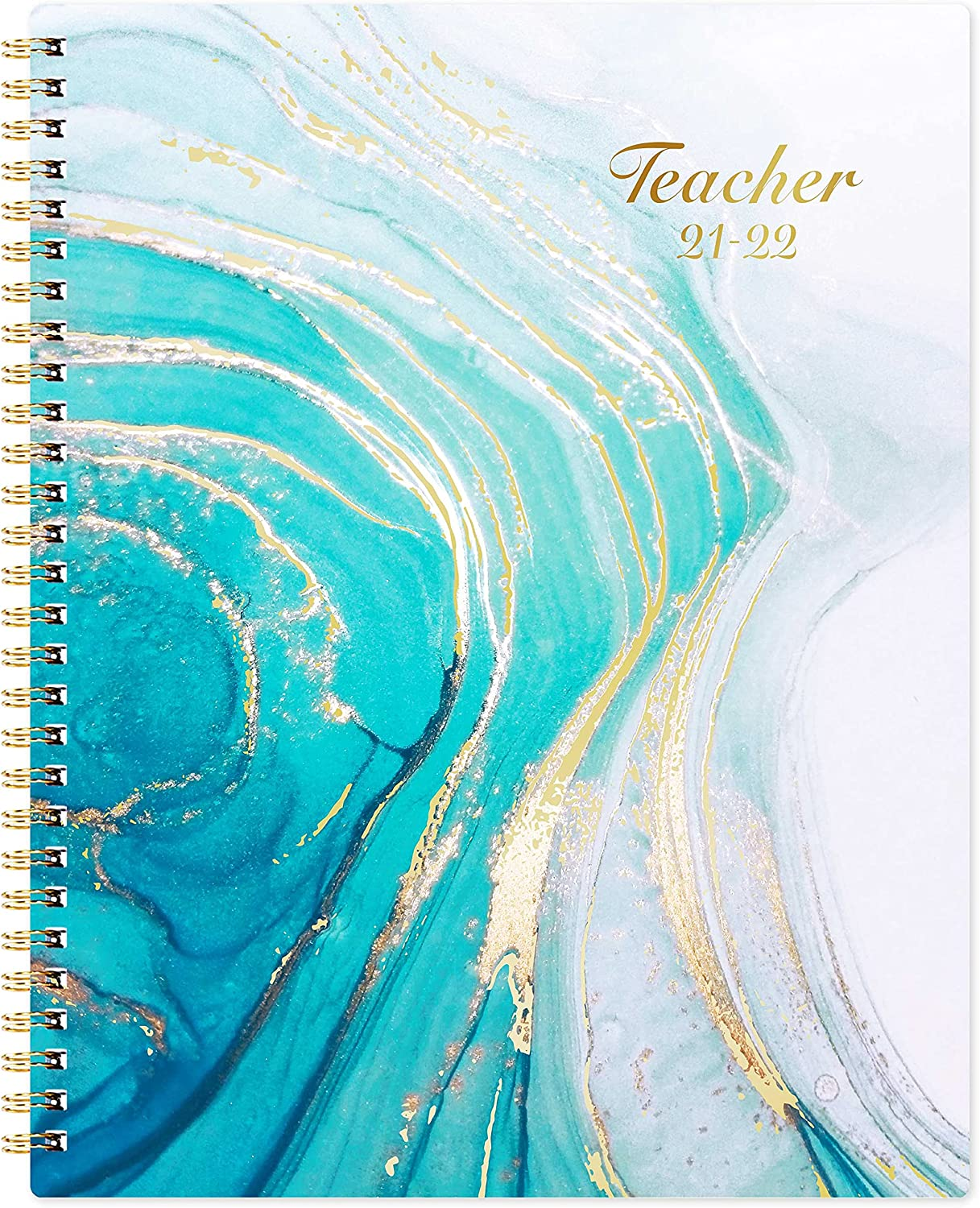 Teacher Planner 2021-2022 - Academic Planner, 8'' x 10'', July 2021 - June 2022, Lesson Plan Book, Weekly & Monthly Lesson Planner,Blue, Bring You a Better Teaching Experience