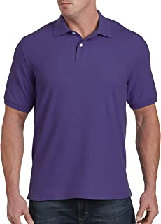 by DXL Big and Tall Pique Polo Shirt