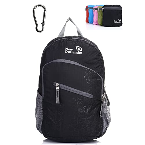 Outlander Ultra Lightweight Packable Water Resistant Travel Hiking Backpack  Daypack Handy Foldable Camping Outdoor Backpack a0f03f65ce