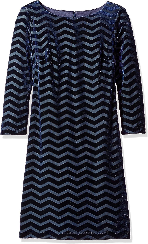 Jessica Howard Women's Petite 3/4 Sleeve Shift Dress