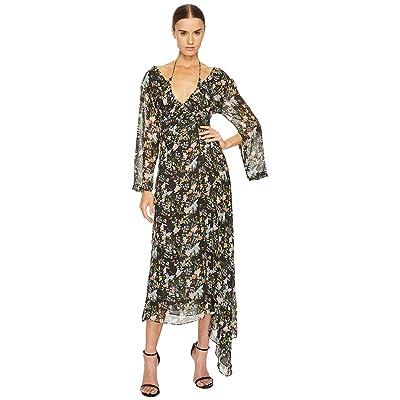 Preen by Thornton Bregazzi Corinne Dress (Black Floral) Women