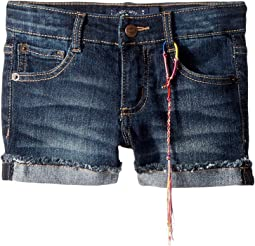 Lucky Brand Kids - Riley Denim Shorts in Barrier Wash (Little Kids)