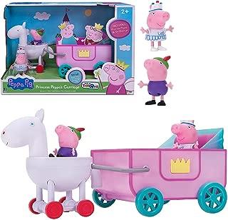 Jazwares Peppa Pig Princess Peppa's Carriage Exclusive Playset