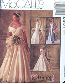 bridal gowns patterns
