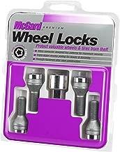 McGard 27179 Chrome Bolt Style Cone Seat Wheel Locks (M12 x 1.5) - Set of 4