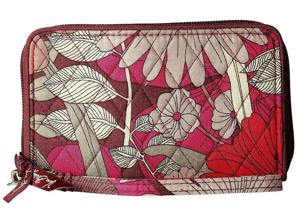 Vera Bradley RFID Grab Go Wristlet (Bohemian Blooms) Wristlet Handbags