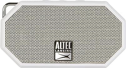 Altec Lansing IMW257-CG Mini H2O Wireless Bluetooth Waterproof Speaker, Floating Ip67 Waterproof, Boat, Hiking, Golf Cart, ATV, Utv, Lightweight, 6-Hour Battery Life, White
