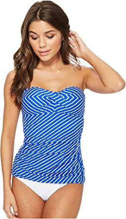 LAUREN Ralph Lauren City Stripe Bandini Top