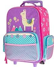 Stephen Joseph Kids' Toddler Classic Rolling Luggage, Llama, Size