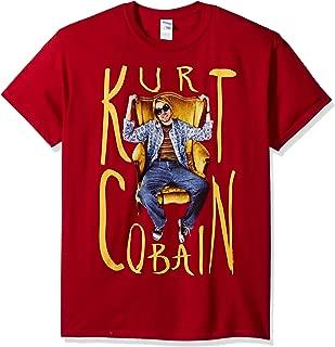 FEA Men's Kurt Cobain Sitting Chair Photo Mens T-Shirt