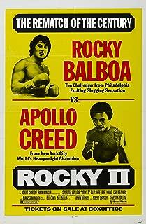 Movie Poster Rocky II (1979) 24x36