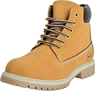 West Code Shoes for Men's Synthetic Boots Leather Casual Shoes and Casual Sneakers MP-3-Camel Shoes