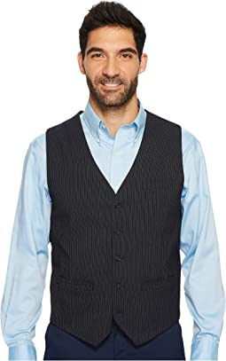 Slim Fit Subtle Pinstripe Suit Vest