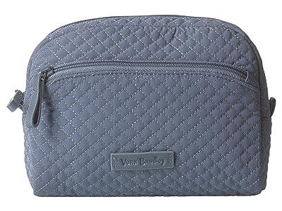 Vera Bradley Iconic Medium Cosmetic (Charcoal) Cosmetic Case