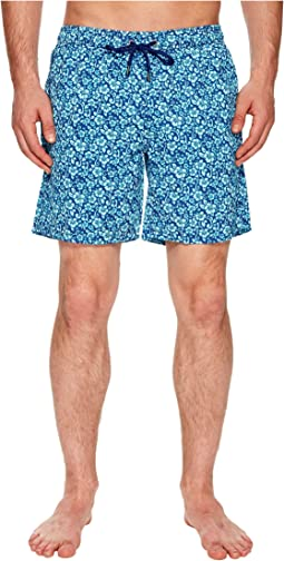 Mr. Swim Floral Printed Dale Swim Trunks