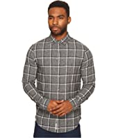 Original Penguin - Long Sleeve Jaspe Brushed Flannel Plaid Heritage