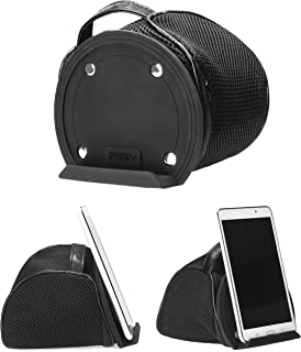 iPad Bed & Lap Stand Bean Bag Universal Tablet Holder for iPad 1/2/3/4, Mini, Air, Tablet Hd HDX/Google Nexus 7 9 / Samsung Galaxy Note Tab A 3 4 S Pro, Android and Windows Tablets, eReaders (Black)