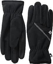 men's columbia thermal coil fleece gloves
