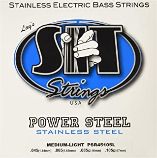 SIT Strings S.I.T. Stay in Tune PSR45105L 5 Stainless Steel Bass Strings