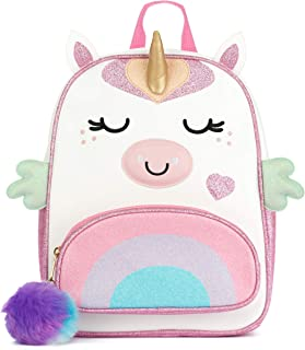 Unicorn backpack for toddlers, girls and teens - Small - 12 inch x 10 inch x 7 inch