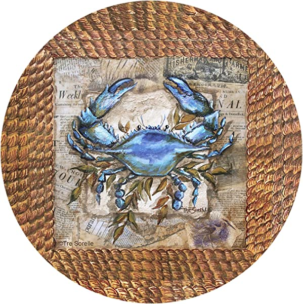 Thirstystone Drink Coaster Set Clam Bake Accent