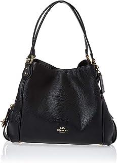 Womens Pebbled Leather Edie 31 Shoulder Bag