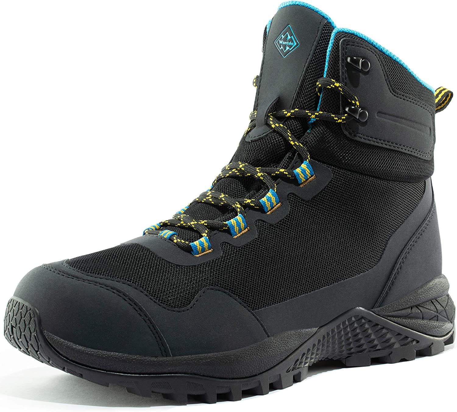 Wantdo Men's Waterproof Hiking Grip Outdoors High-Traction Boots Cheap sale Under blast sales