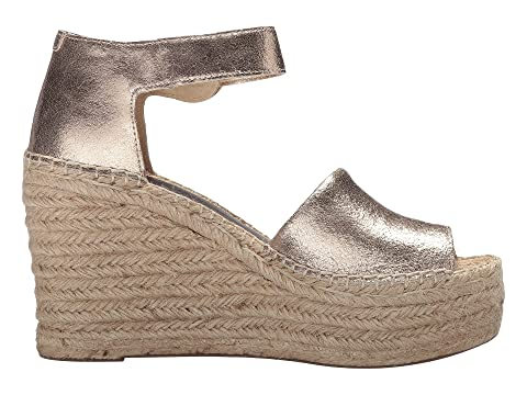 100% Guaranteed For Sale Marc Fisher LTD Alida Espadrille Wedge Gold Suede Outlet Release Dates DctATTVp