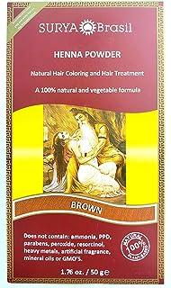 Surya Brasil Henna Powder Brown, Pack of 3