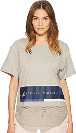 adidas by Stella McCartney - Essentials Logo Graphic Tee CW0451