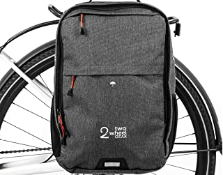 Two Wheel Gear - Pannier Backpack Plus+ (Large) - 2 in 1 - Bike Commuting and Travel Bag