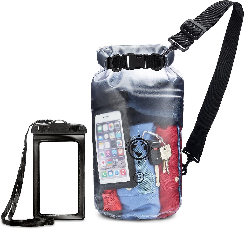 Earth Pak Waterproof Genuine Bag- 10L Memphis Mall 20L Bag Sizes Transparent - Dry