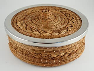 Handmade Pine Needle Tortilla Warmer