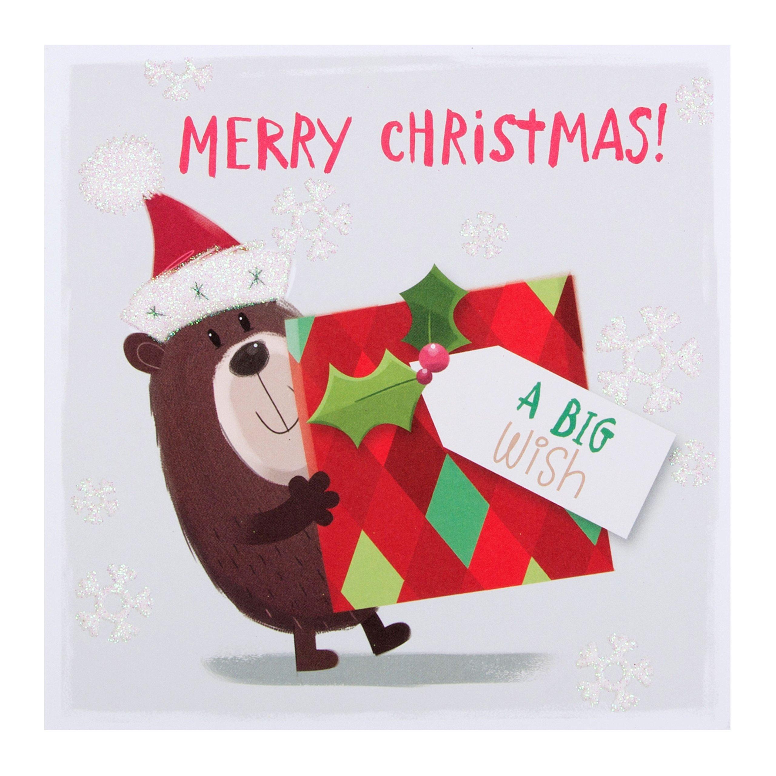 Tarjetas de Navidad Hallmark, modelo «Grandes deseos», 10 tarjetas, diseño único, 10 Cards: Amazon.es: Oficina y papelería