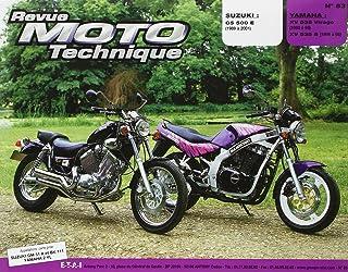 Suzuki gs 500 e (89 à 96) Yamaha xv 535 Virago (88 à