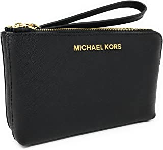 Michael Kors LG Wristlet Leather Black (35H7GTVC7L)