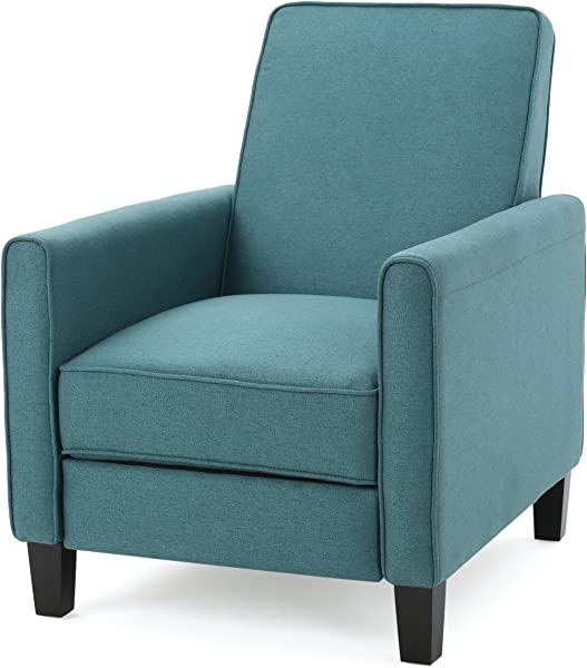 Christopher Knight Home 299630 Lucas Recliner Club Chair Dark Teal